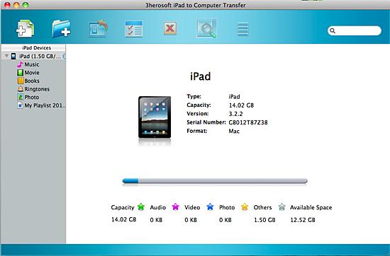 3herosoft ipad to computer transfer for mac