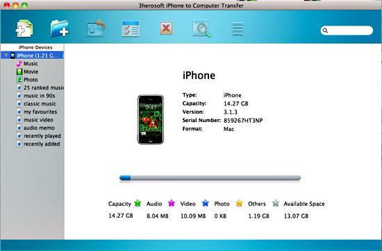 3herosoft iphone su mac
