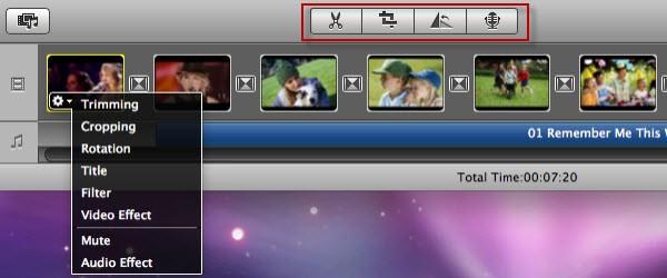 Mac Vivideo edit