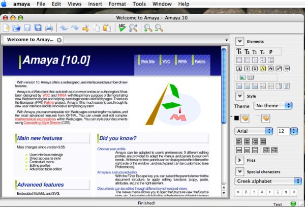 Mac OSX version
