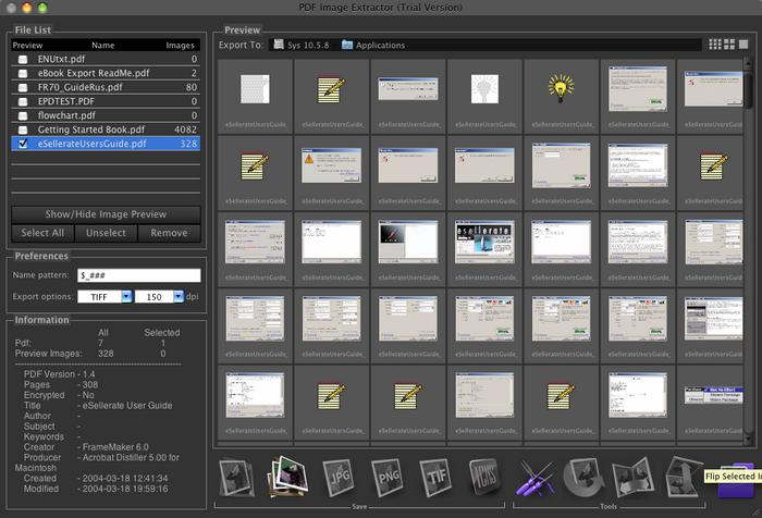 PDF Image Extractor per mac