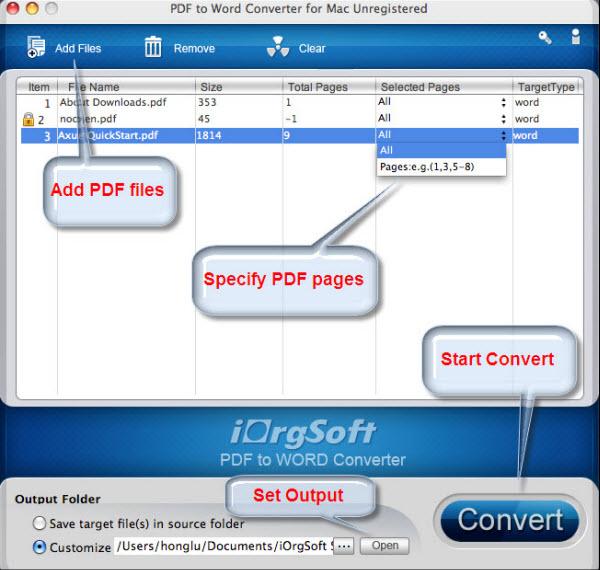 pmd to pdf converter mac