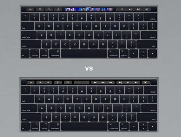 Come disabilitare Touch Bar su MacBook Pro &quot;width =&quot; 610 &quot;height =&quot; 464 &quot;class =&quot; aligncenter size-large wp-image-77383 &quot;/&gt; </p> <p> La Touch Bar su MacBook Pro è probabilmente il componente più controverso dell&#39;attuale generazione di MacBook Pro (a parte la tastiera stessa), e se sei un utente MacBook Pro a cui non piace l&#39;esperienza Touch Bar per qualsiasi motivo , sia che cerchi di trovare e utilizzare il tasto ESC touch, o la natura in continua evoluzione del piccolo touch screen al posto di una semplice riga di tasti funzione, puoi disabilitare in modo efficace la Touch Bar sui modelli di MacBook Pro che sono equipaggiati con il sottile striscia del touch screen. </p> <p><!-- Quick Adsense WordPress Plugin: http://quickadsense.com/ --></p> <p> Disabilitando la Touch Bar con il metodo che mostreremo qui, avrai effettivamente una riga statica di tasti come fa una normale tastiera Mac, indipendentemente dall&#39;app che stai utilizzando o da ciò che stai facendo sul Mac. Con questa impostazione, i tasti della Touch Bar digitale rimarranno sempre coerenti con i pulsanti a sfioramento per ESC, luminosità giù, luminosità su, Controllo missione, Launchpad, luminosità della tastiera giù, luminosità della tastiera su, salta indietro audio, pausa / riproduci audio, salta audio avanti , mute, volume giù, volume su, Siri &#8211; oppure se personalizzi la striscia di controllo della Touch Bar, appariranno invece queste personalizzazioni. Indipendentemente da ciò, la Touch Bar non cambierà frequentemente in altri pulsanti digitali e colori lampeggianti, cursori, miniature e altre opzioni sul piccolo schermo tattile sopra la tastiera. </p> <h2> Come disattivare la Touch Bar su MacBook Pro </h2> <ol> <li> Vai al  menu Apple e seleziona &quot;Preferenze di Sistema&quot; </li> <li> Scegli il pannello delle preferenze &quot;Tastiera&quot; e quindi seleziona la scheda &quot;Tastiera&quot; del pannello di controllo </li> <li> Cerca &quo