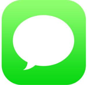 Icona dell&#39;app Messaggi iOS &quot;width =&quot; 300 &quot;height =&quot; 291 &quot;class =&quot; aligncenter size-medium wp-image-76889 &quot;/&gt; </p> <li> Apri la conversazione del messaggio o il messaggio di testo che desideri salvare in modo che sia attivo sullo schermo, abbassa brevemente se vuoi rivelare uno schermo intero di messaggi e nascondere la tastiera </li> <p> <img src=