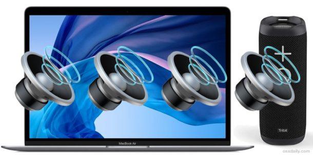 Collega un altoparlante Mac all&#39;altoparlante Bluetooth &quot;width =&quot; 610 &quot;height =&quot; 303 &quot;class =&quot; aligncenter size-large wp-image-80305 &quot;/&gt; </p> <p> Un Mac può essere facilmente collegato a un sistema di altoparlanti Bluetooth, offrendo un metodo comodo e wireless per ascoltare l&#39;audio dal computer. </p> <p><!-- Quick Adsense WordPress Plugin: http://quickadsense.com/ --></p> <p> L&#39;uso di un sistema di altoparlanti Bluetooth su un Mac è abbastanza semplice e l&#39;unico requisito reale è che il Mac abbia il Bluetooth che è abilitato e il sistema di altoparlanti è nel raggio d&#39;azione. Oltre a ciò, MacOS è in grado di connettersi praticamente a qualsiasi altoparlante Bluetooth, sia che si tratti di uno stereo più elaborato o di un semplice altoparlante portatile. </p> <p> <span id=