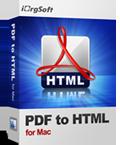 PDF TO HTML Converter Per Mac