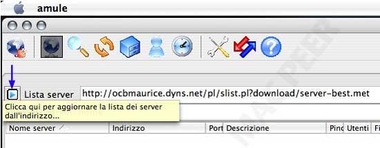lista server