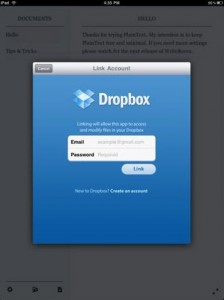 sync-plaintext-to-dropbox