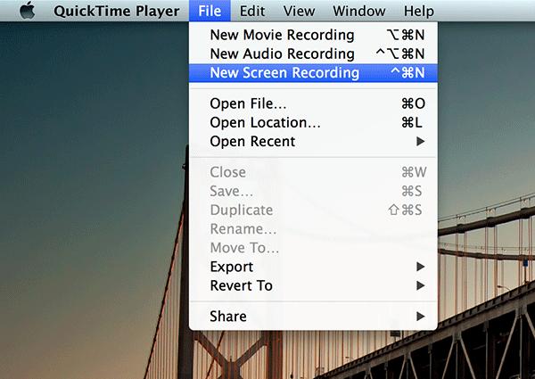 Registrare Schermo Del Mac Con Quicktime Programmi Per Mac