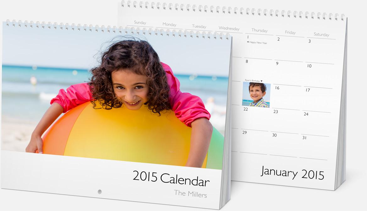 calendario iphoto