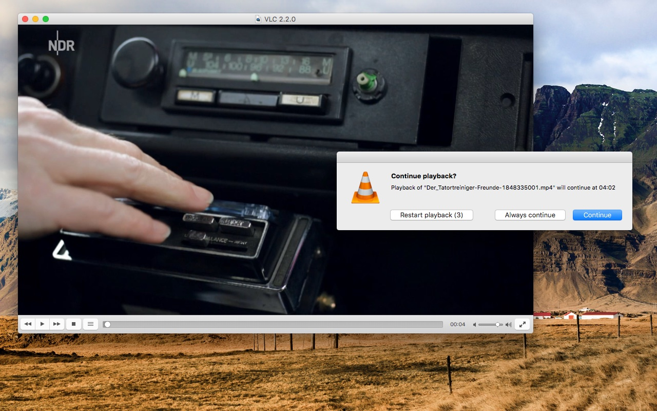 VLC on OS X