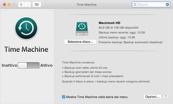 Risultati immagini per criptare backup mac