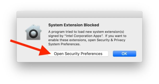 """Installa Intel Power Gadget su Mac """"width ="""" 610 """"height ="""" 325 """"class ="""" aligncenter size-large wp-image-82425 """"/> </p> <li> Nella sezione """"Generale"""" del pannello delle preferenze di sicurezza, fai clic sul pulsante """"Consenti"""" il """"software di sistema dalle app Intel per sviluppatori"""" che è stato bloccato da Gatekeeper * </li> <p> <img src="""