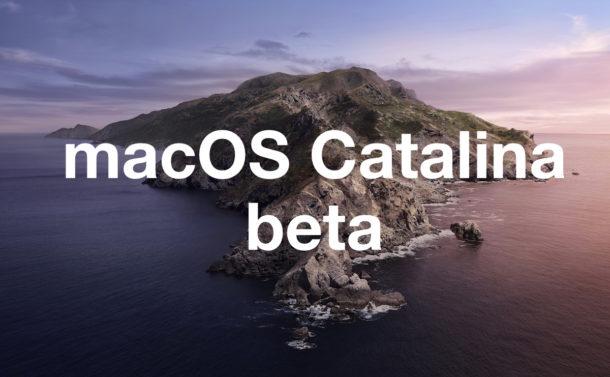 """MacOS Catalina beta """"width ="""" 610 """"height ="""" 377 """"class ="""" aligncenter size-large wp-image-86507 """"/> </p> <p> Apple ha rilasciato la prima beta pubblica di macOS Catalina agli utenti interessati a eseguire la versione beta pubblica della versione MacOS di prossima generazione. </p> <p><!-- Quick Adsense WordPress Plugin: http://quickadsense.com/ --></p> <p> Tecnicamente chiunque può scaricare e installare macOS Catalina 10.15 beta pubblica, ma in genere è appropriato solo per gli utenti esperti. </p> <p> MacOS Catalina include una serie di nuove interessanti funzionalità per il Mac, tra cui la possibilità di utilizzare un iPad come secondo display, Screen Time per Mac, tutti i nuovi potenti strumenti di accessibilità, Activation Lock per scoraggiare il furto, la dissoluzione di iTunes in tre app separate e molto altro. </p> <p> <strong> Importante: </strong> Ricorda che il software di sistema beta è notoriamente meno stabile e più soggetto a problemi e ad altri problemi come arresto anomalo, incompatibilità o altri errori e pertanto è davvero appropriato solo per gli utenti avanzati da installare su i loro Mac. Idealmente, un Mac secondario sarebbe usato per testare la beta pubblica di macOS Catalina. </p> <h2> Come scaricare la beta pubblica di MacOS Catalina </h2> <p> Gli utenti interessati a eseguire la beta pubblica di macOS Catalina 10.15 possono registrare qualsiasi Mac compatibile nel programma di test beta ufficiale tramite il sito Web ufficiale per l'iscrizione alla beta di Apple: </p> <p> Effettuerai il login al tuo ID Apple e potrai scegliere di iscrivere il tuo Mac idoneo al programma beta pubblico macOS Catalina. </p> <p> Assicurati di aver eseguito il backup del Mac con Time Machine o un altro metodo di backup prima di provare a installare il software del sistema beta. Un notevole vantaggio nell'utilizzo di Time Machine è che è possibile effettuare facilmente il downgrade da macOS Catalina beta a una precedente versione stabile di macOS, se necessario."""