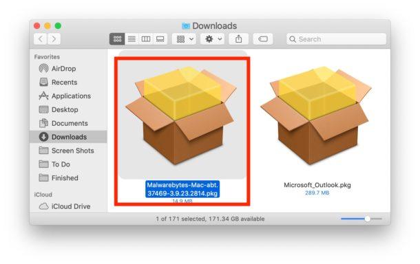 """Come installare Malwarebytes su Mac per scansionare e rimuovere Malware """"width ="""" 610 """"height ="""" 384 """"class ="""" aligncenter size-large wp-image-88187 """"/> </p> <li> Nella schermata di installazione di Malwarebytes, scegli Continua e leggi le note di rilascio e i termini della licenza </li> <p> <img src="""