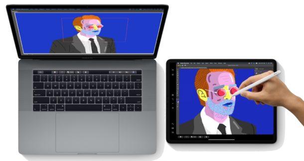 """Modelli compatibili con Sidecar per Mac e iPad"""" width = """"610"""" height = """"323"""" /> </noscript></p> <p>Sidecar consente di utilizzare un iPad come display esterno secondario con un Mac. Questa fantastica funzionalità è stata introdotta su Mac con macOS Catalina e consente di estendere un Mac Desktop su un iPad compatibile, offrendoti un secondo monitor senza realmente bisogno di un secondo monitor.</p> <p><!-- Quick Adsense WordPress Plugin: http://quickadsense.com/ --></p> <p>L'uso di Sidecar può essere di particolare beneficio per chiunque trascorra le proprie giornate usando un notebook Mac con un iPad e vorrebbe avere l'opportunità di avere un po 'più di spazio con cui lavorare. Puoi persino utilizzare la tua Apple Pencil con app compatibili e, poiché non è necessario utilizzare alcun cavo, puoi disporre di una configurazione multi-monitor wireless istantanea in movimento. Improvvisamente una workstation a doppio display presso la caffetteria locale non è così assurda come potrebbe sembrare.</p> <p>Come sempre ci sono alcune cose che ti serviranno per usare Sidecar. Per quanto riguarda il software, l'iPad deve eseguire iPadOS 13 o versioni successive mentre il Mac deve disporre di macOS 10.15 Catalina o versioni successive. Tuttavia, non tutto l'hardware è supportato, quindi assicurati di verificare la compatibilità del Sidecar per assicurarti che i tuoi dispositivi supportino la funzione.</p> <p>Oltre a un'installazione hardware e software compatibile, devi anche assicurarti che:</p> <ul> <li>Sia per Mac che per iPad sono abilitati Bluetooth e Wi-Fi.</li> <li>Entrambi i dispositivi devono avere Handoff abilitato e utilizzare lo stesso account ID Apple / iCloud.</li> </ul> <h2>Come utilizzare Sidecar su Mac con iPad</h2> <p>Supponendo che tu abbia tutto ciò di cui hai bisogno sul lato software e hardware, in realtà usare Sidecar è il più semplice possibile. Dal Mac, procedi come segue:</p> <ol> <li>Vai al menu  Apple e scegli """"Preferenze di Sistema"""" (o</li> <li>Fai """
