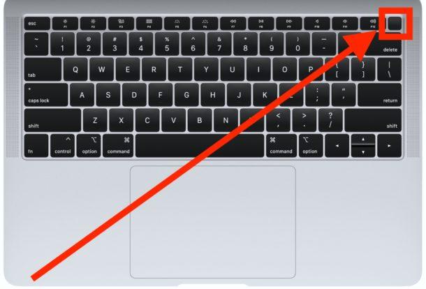 """Come forzare il riavvio del nuovo MacBook Air con il pulsante di accensione Touch ID """"larghezza ="""" 610 """"altezza ="""" 414 """"class ="""" aligncenter size-large wp-image-90477 """"/> </noscript></p> <p></p> <ul> <li>Attendi qualche secondo, quindi tieni nuovamente premuto il pulsante Touch ID / pulsante di accensione sul MacBook Air fino a quando non viene visualizzato il logo  Apple sullo schermo</li> </ul> <p></p> <p><img id="""